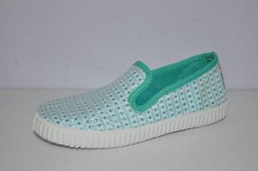 Buty wsuwane na gumkę dziewczęce Cienta 57-022-78