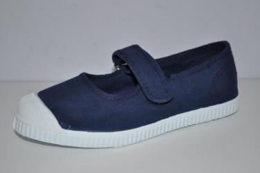 Buty na rzepę z gumowym czubkiem Cienta 76-997-77