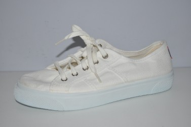 Białe Tenisówki sznurowane Cienta 15-997-05