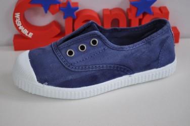 Buty na gumkę bez sznurówek z gumowym czubkiem Cienta 70-777-84